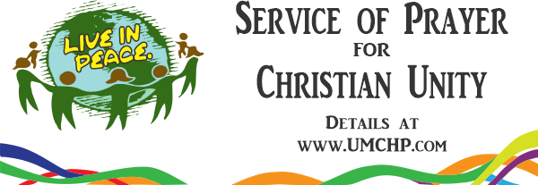 Service of Prayer for Christian Unity Banner